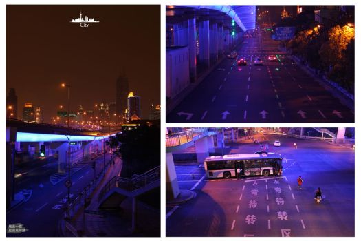 City-Shanghai by dyinginthesun