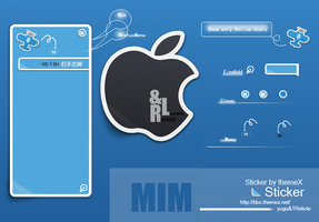 Sticker for MIM by 1Reticle