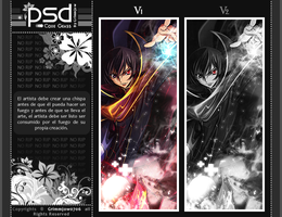 PSD: Signature Code Geass by angels0706