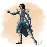 Lady Knight by FicusArt