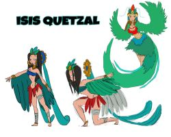 Isis Quetzal by DannCat