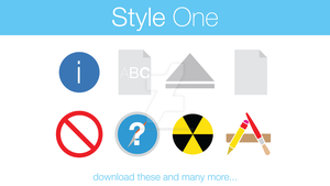 General Icons Style One by hamzasaleem