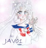 usagi tsukino  key of the heart by zelldinchit