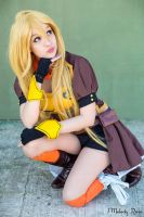 Yang Xiao Long Cosplay RWBY by MelodyxNya