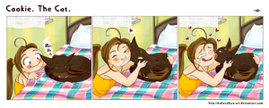 Cookie. The Cat. -- 10 -- by Nakovalnya-Art