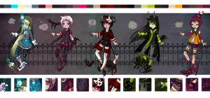Halloween Adopts (OPEN 1/5) by Gelly-Bear