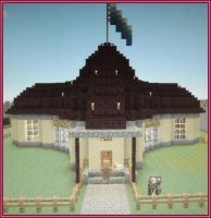 My first unique Minecraft bulding by MAGAngel