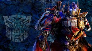 Optimus Prime WP by JibaDesign