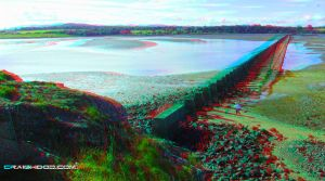 Cramond island (3d anaglyph red/blue) by waigy