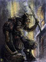 a Krampus by mr-nick