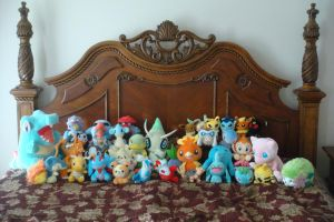 Pokemon Plush Collection by caffwin