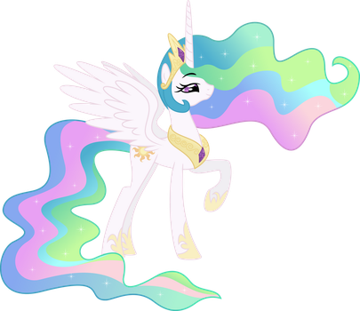 Princess Celestia by EmberFiremane