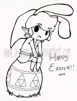 Happy belated Easter 2009 OTL by IX-Demyx-IX