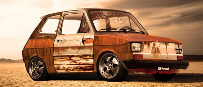 Rat style fiat 126 bis by selcukayhan