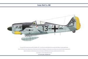 Fw190A8 JG26 1 by WS-Clave