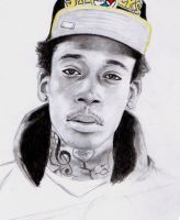Wiz Khalifa 2 by Born2Art