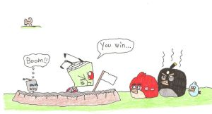 Zim vs Angry Birds 2 by Mr-Illusionist-1331