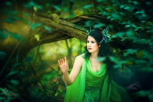 Queen of the Woodland Realm by LilifIlane