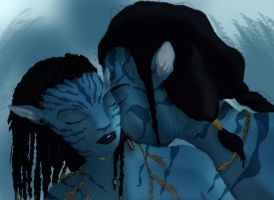 Jake and Neytiri by Giocondablu