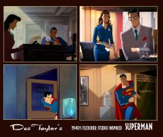 Des Taylor's Fleischer Superman by DESPOP