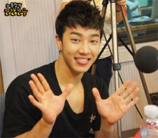 GiKwang: ChinChin Radio by waterbirdART