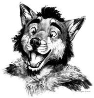 Bust Commission - CactusYote by teagangavet