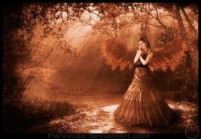 Autumn Angel by PaiVerde