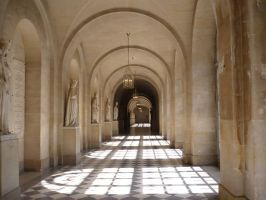 Corridor in Versailles STOCK by Chiron178