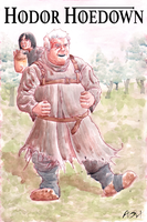 Hodor Hoedown by sequentialartist