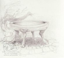 Cauldron by myceliae