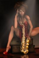 Smokin' Hot Sax by RGUS