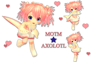 [MOTME] AXOLOTL BABY [JUNE] POSSIBLE DL by Glycyrrhizicacid