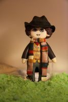 The Fourth Doctor by Monicmon