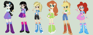 Real Equestria Girls by kaciekk