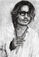 Johnny Depp 2nd ATTEMPT by BonaScottina