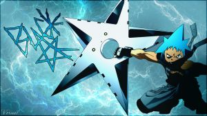 Black Star Wallpaper by Vermal21