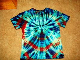 Psychedelic Tie-Dye Shirt by ReturningDragon