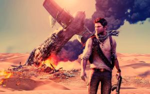 Uncharted 3: Drake's Deception Wallpaper by aquil4