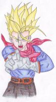 SuperSayanTrunks by HappInesFactory