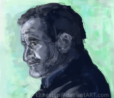Robin Williams Painted by Lithestep