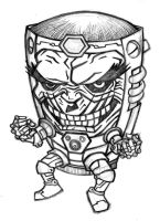 Here's...MODOK by thatjuniorbruce