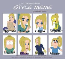Evelyn: Style Meme by atemuzuko