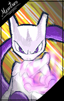 Mewtwo by Ko3mFod3t