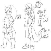 Utau University WIP maybe by Nukude