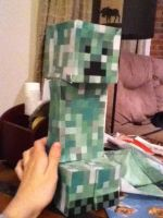 Papercraft Creeper by SkylordLoLz