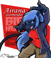 Airana big hero 6 ID by auveiss