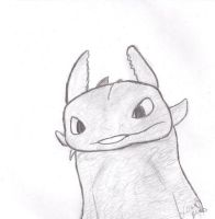 httyd - toothless +doodle+ by alltimeyoh