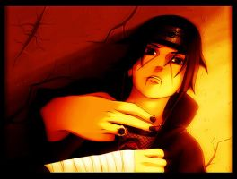 Itachi in point of death. by SymphonyChaos