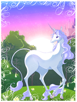 The last Unicorn by EvilQueenie