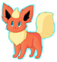 :Flareon: by lemoncave